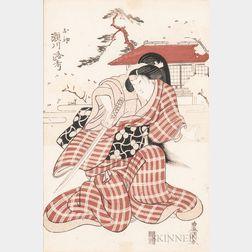Utagawa Toyokuni I (1769-1825), Woodblock Print