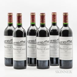 Chateau Pontet Canet 2000, 6 bottles