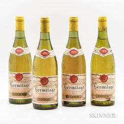 E. Guigal Hermitage Blanc 1979, 4 bottles