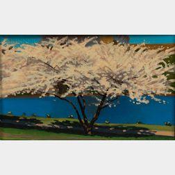 Ed Stitt (American, 20th/21st Century)      Spring Blossoms