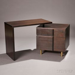 Desk Attributed to Joe Adkinson for Thonet