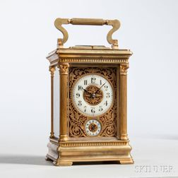 Rodanet Carriage Clock with Quarter-hour Repeat on Command