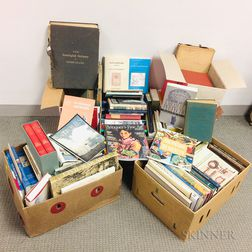 Six Boxes of Genealogical Research and Books