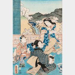 Utagawa Toyokuni II (1777-1835), Woodblock Print