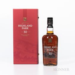 Highland Park 30 Years Old, 1 70cl bottle (pc)