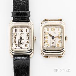 """Two Illinois Watch Co. """"Futura"""" Wristwatches"""