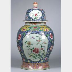 Large Baluster Jar and Cover