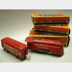 "Boxed Lionel Five-Piece ""Commodore Vanderbilt"""