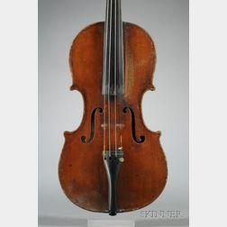 Interesting Violin, Neapolitan School, c. 1890