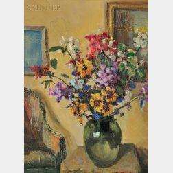 Charles Vezin (American, 1858-1942)      Studio Corner
