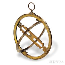 English Brass Universal Equinoctial Ring Dial