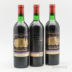 Chateau Palmer 1976, 3 bottles