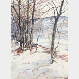 Walter Koeniger (American, 1881-1943)      January, Forest Park