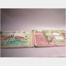 Large Handmade Room Book