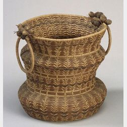 Northeast Pine Needle Basket