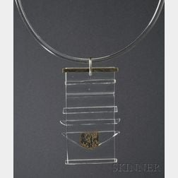 Solar-Lunar Necklace #2, Margret Craver