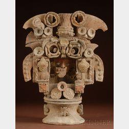 Pre-Columbian Pottery Incensario