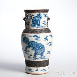 Blue and White Vase