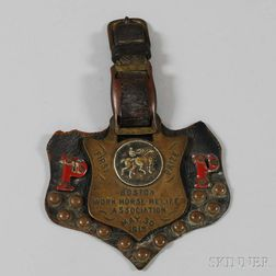 """""""First Prize"""" Boston Work Horse Relief Association Medal"""