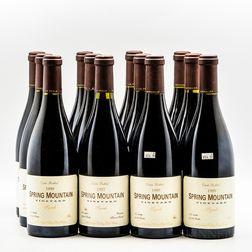 Spring Mountain Vineyard Syrah 1999, 12 bottles