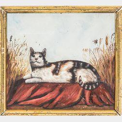 American School, 20th Century      Portrait of a Cat