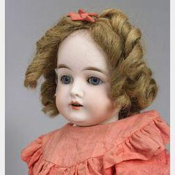 R.B. Bisque Socket Head Doll