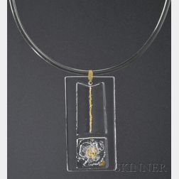Solar-Lunar Necklace #4, Margret Craver