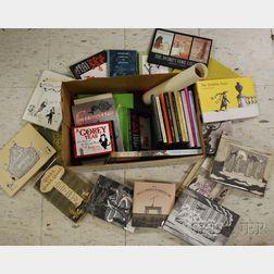 Thirty-three Edward Gorey and Related Book Titles and Ephemera.