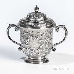 George I Britannia Standard Silver Cup and Cover