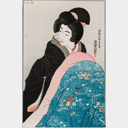 Ito Shinsui (1898-1972), Charcoal Footwarmer