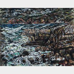 Ivan Le Lorraine Albright (American, 1897-1983)      Cabo da Roca, Portugal