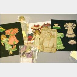 Large Lot of Raphael Tuck Paper Doll Sets