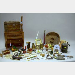 Group of Antique and Collectible Items