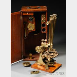 The Harley Binocular Microscope by C. Collins