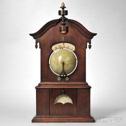 """Timby Walnut """"Solar Timepiece"""" or Globe Clock"""