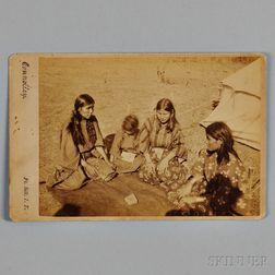 Connolly Photograph of Kiowa or Comanche Women