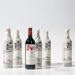 Chateau Mouton Rothschild 1995, 6 bottles