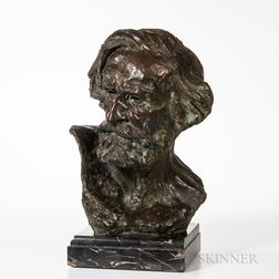 Bronze Bust of Giuseppe Verdi