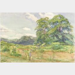Dodge Macknight (American, 1860-1950)  Summer Pastures