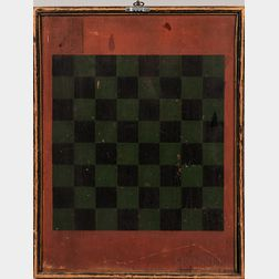 Two-sided Checkers and Backgammon Game Board