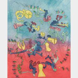 Roberto Matta (Chilean, 1911-2002)    Untitled