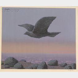 René Magritte (Belgian, 1898-1967)    L'Idole (by Henri Deschamps)