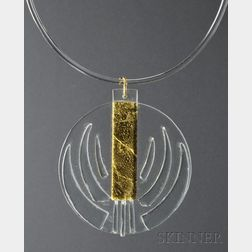 Solar-Lunar Necklace #6, Margret Craver