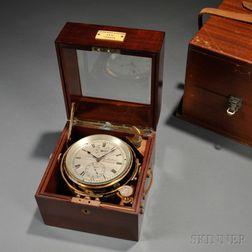 Kelvin, White & Hutton Two-day Chronometer