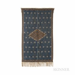 Mexican Saltillo Serape Textile