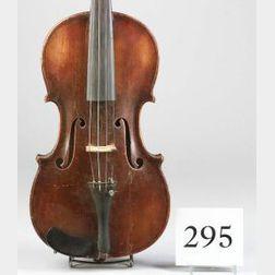American Violin, Thomas D. Paine, Woonsocket, 1856