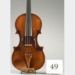 French Violin, J.B. Vuillaume, Paris, c.1867