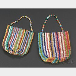 Two Plains Finger-woven Beaded Bags