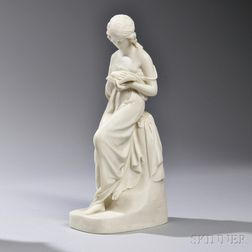 Copeland Parian Model of The Reading Girl