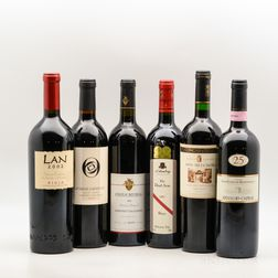 Mixed Worldwide Reds, 6 bottles